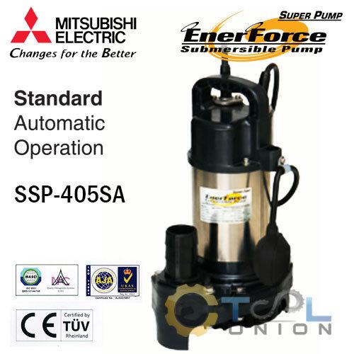 ปั๊มแช่แสตนเลส MITSUBISHI SSP-Series SSP-405SA