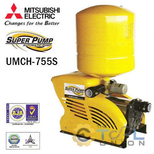 ปั๊มน้ำแบบอัตโนมัติชนิดหลายใบพัด MITSUBISHI UMCH-755S