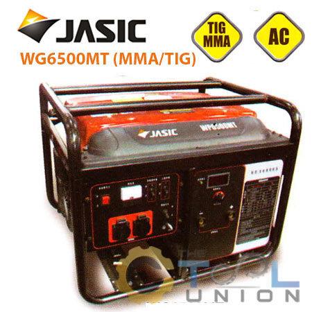 GENERATOR & WELDER JASIC WG6500MT (MMATIG)
