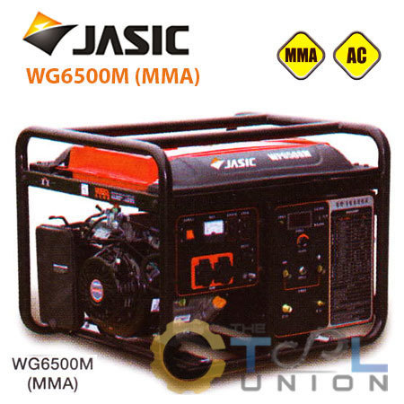 GENERATOR & WELDER JASIC WG6500M (MMA)