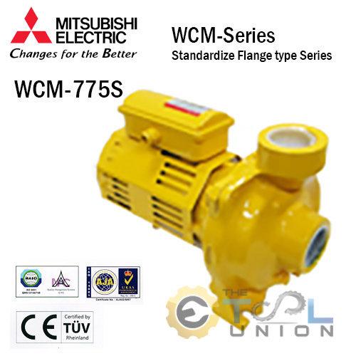ปั๊มหอยโข่ง ชนิดแรงดันปานกลาง MITSUBISHI WCM Series รุ่น WCM-755S
