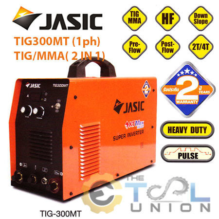 TIGMMA WELDER JASIC TIG-300MT