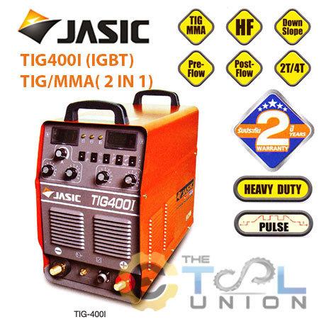TIGMMA WELDER JASIC TIG-400I (IGBT)