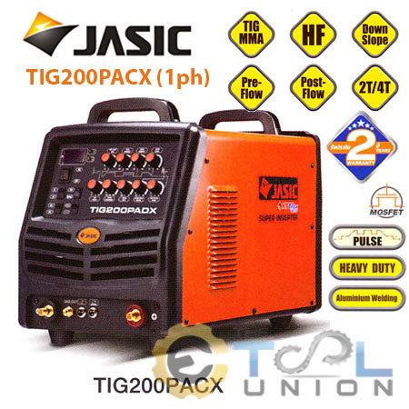 TIG PLUS ACDC JASIC TIG-200PACX (1ph)