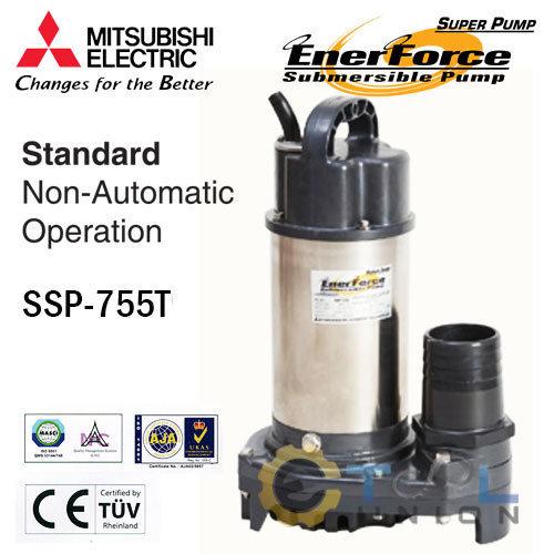 ปั๊มแช่แสตนเลส MITSUBISHI SSP-Series SSP-755T
