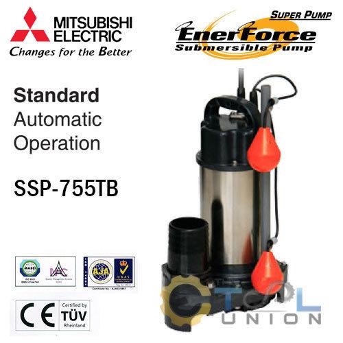 ปั๊มแช่แสตนเลส MITSUBISHI SSP-Series SSP-755TB