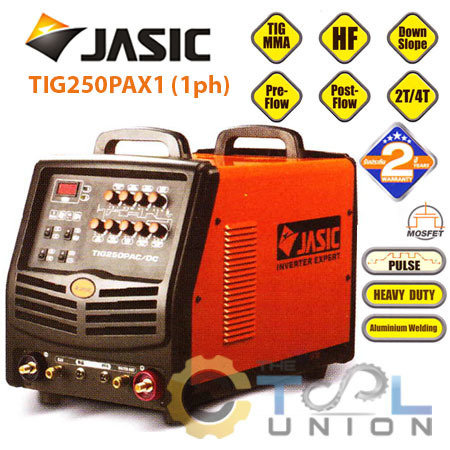 TIG PLUS ACDC JASIC TIG-250PAX1 (1ph)