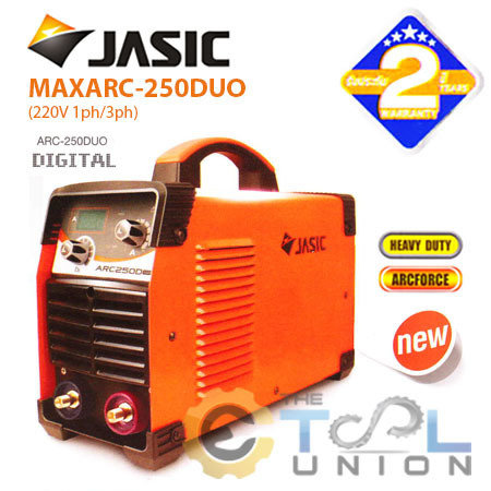 MMA INVERTER WELDER JASIC ARC 250DUO