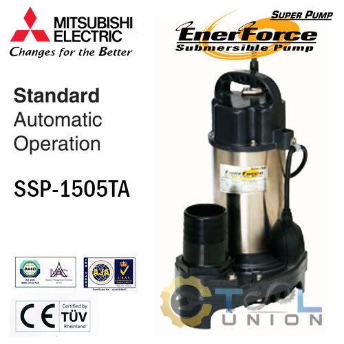 ปั๊มแช่แสตนเลส MITSUBISHI SSP-Series SSP-1505TA
