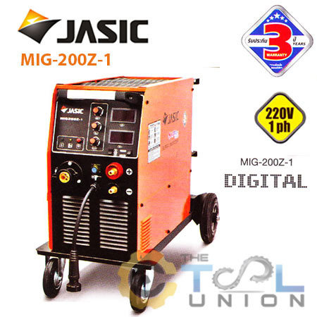MIGMAG CO2 JASIC MIG200Z-1 (1ph)