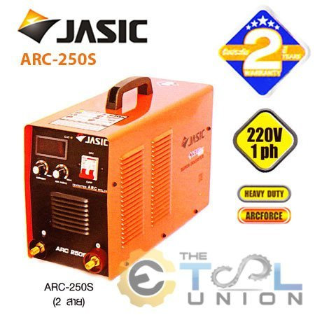 MMA INVERTER WELDER JASIC ARC 250S