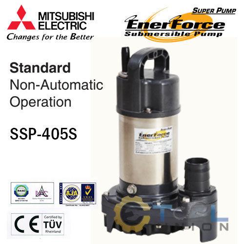 ปั๊มแช่แสตนเลส MITSUBISHI SSP-Series SSP-405S