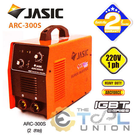 MMA INVERTER WELDER JASIC ARC 300S