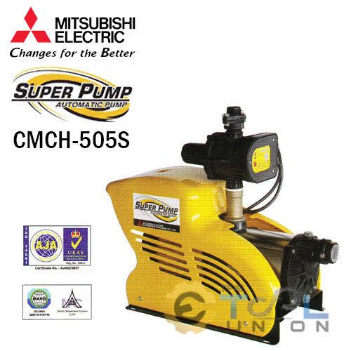 ปั๊มน้ำแบบอัตโนมัติแรงดันคงที่ชนิดหลายใบพัด MITSUBISHI CMCH-505S