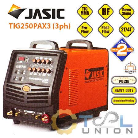 TIG PLUS ACDC JASIC TIG-250PAX3 (3ph)