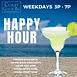 Blue Happy Hour Instagram Post.png