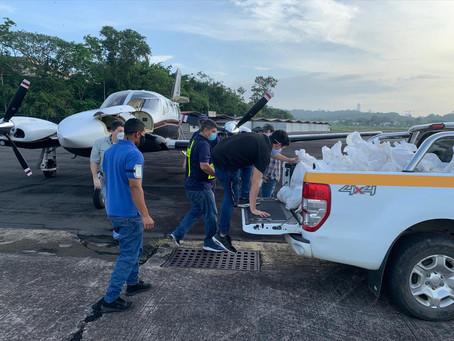 Continúan los vuelos humanitarios por los pilotos de la APA.