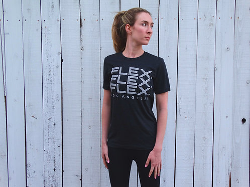 "Unisex Triblend ""Triple FLEX."" Tee - Charcoal"