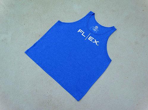"Unisex Triblend ""FL | EX"" Tank - True Royal"