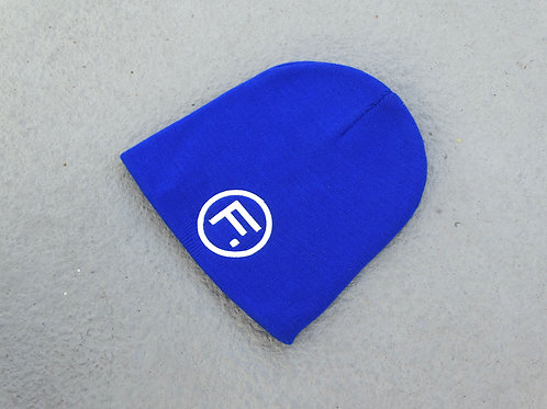 Skullcap Beanie - Royal/White