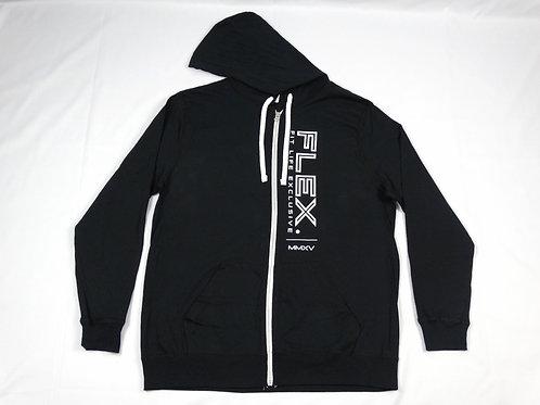 Classic Lightweight Zip Hoodie - Black