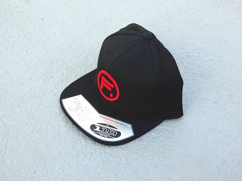 110 Snapback - Black/Red - F. Circle