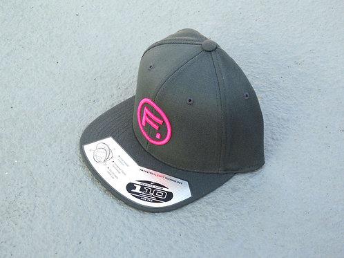 110 Snapback - Dark Grey/Hot Pink - F. Circle