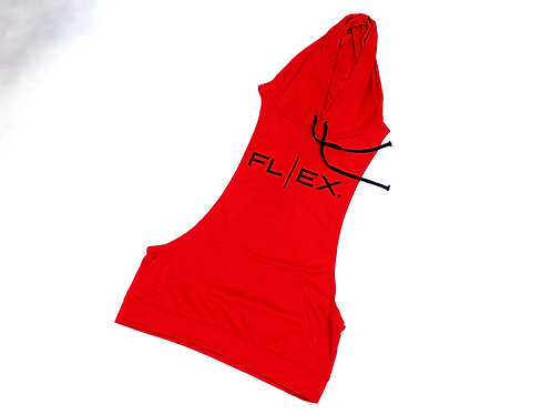 Men's Racerback Hoodie - Red/Black