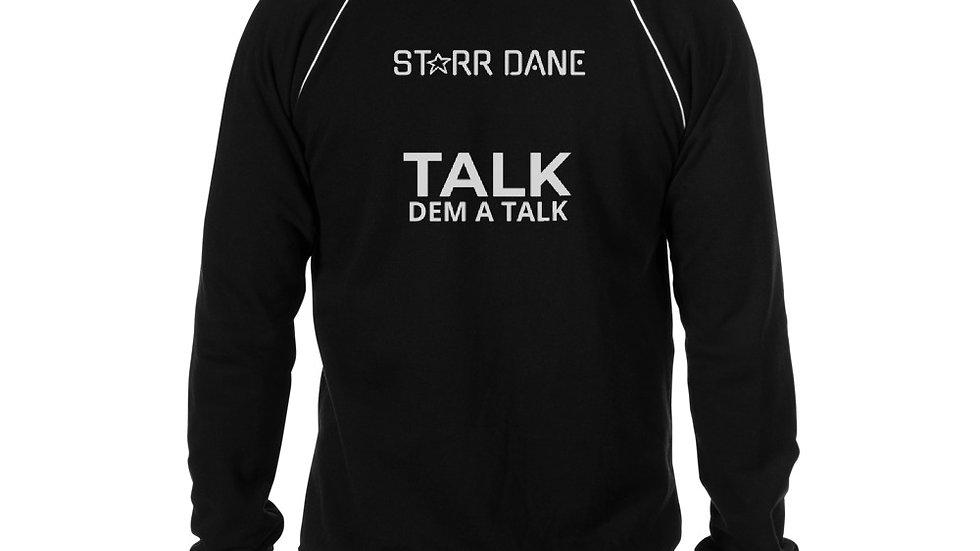 STARR DANE Talk Dem A Talk Piped Fleece Jacket