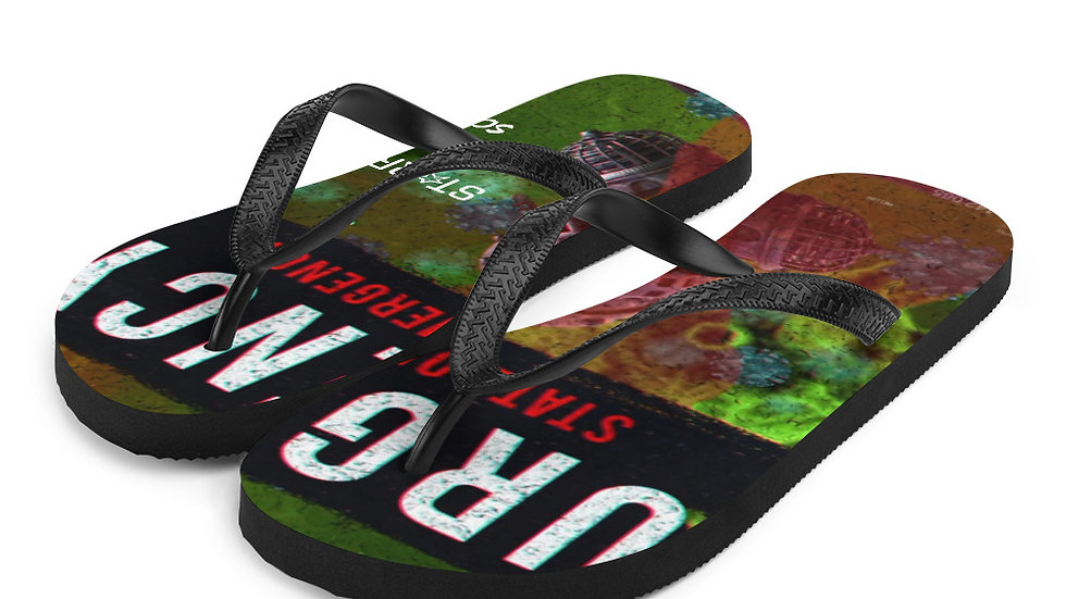 State Of Emergency Flip-Flops