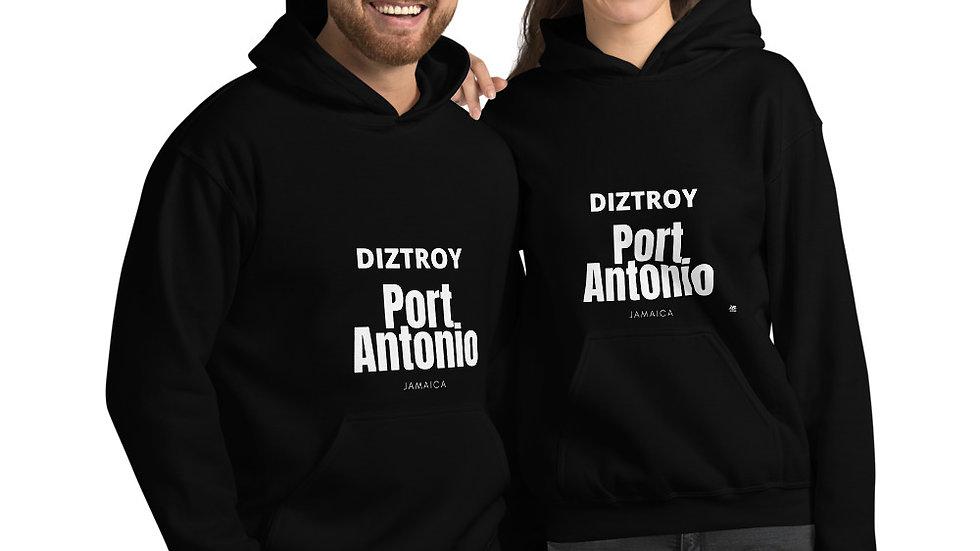 DIZTROY PORT ANTONIO Unisex Hoodie