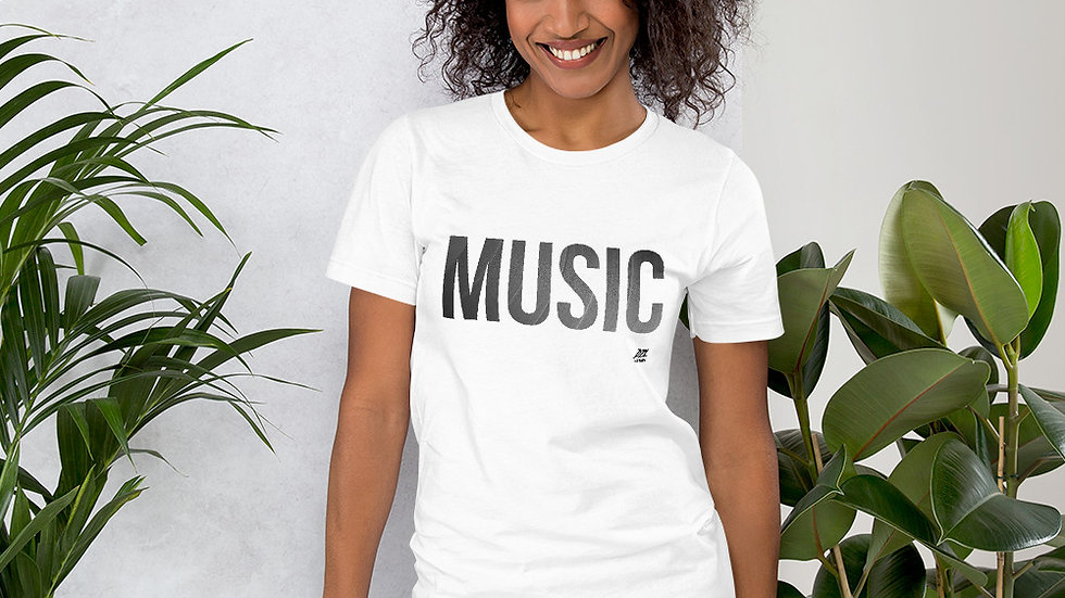 MUSIC by DZL RECORDS Short-Sleeve Unisex T-Shirt