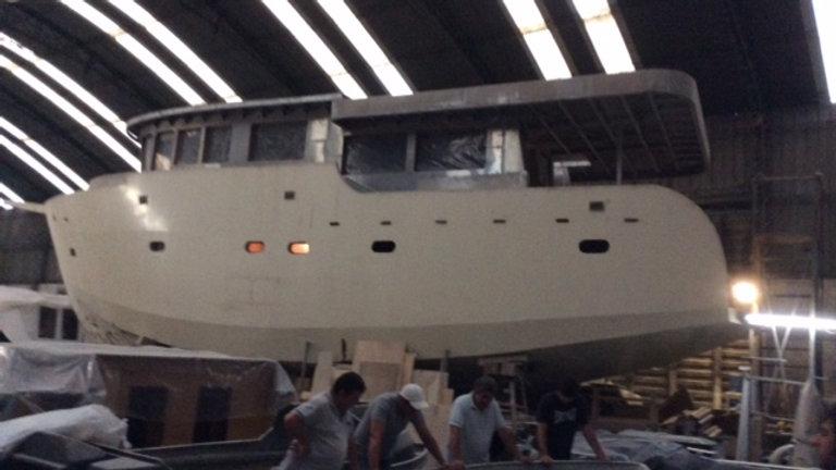 Trawler de acero & Aluminio 62´a Terminar