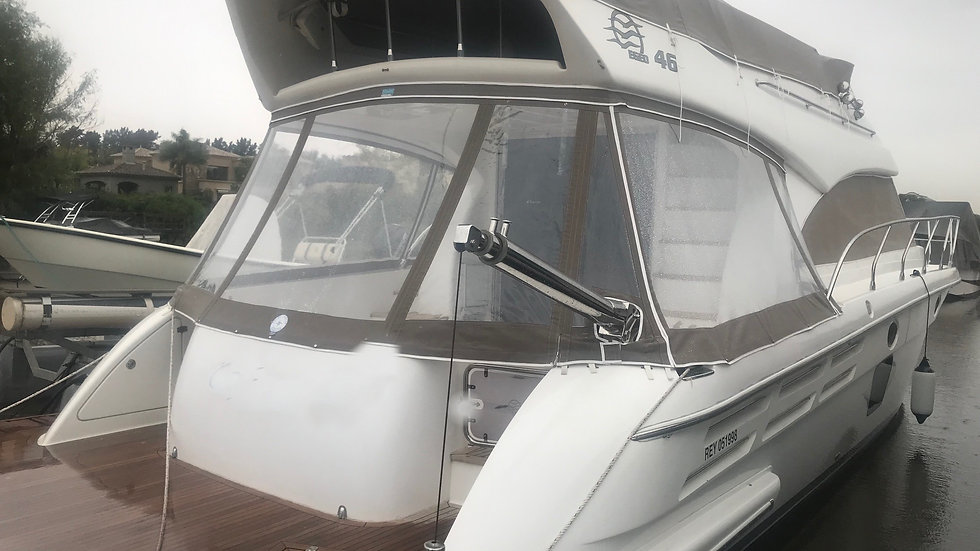 Egeo 46´ Volvo 435 con eje con 380 hs