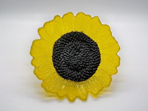 Yellow Transparent Sunflower
