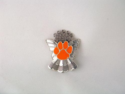 Clemson Tiger guardian angel pin