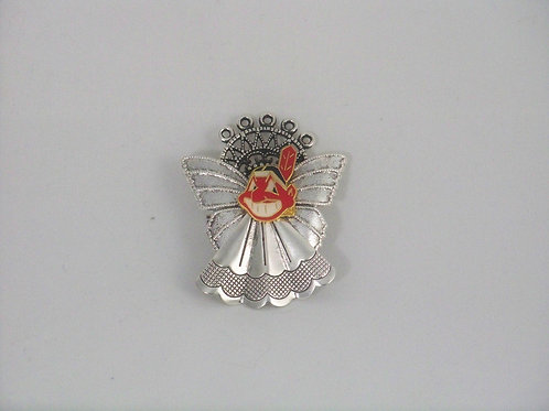Cleveland Indians guardian angel pin