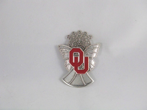 Oklahoma Sooner Angel pin