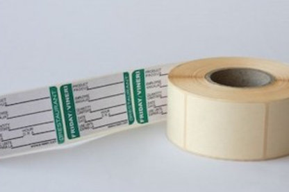 Set 4 role de etichete HACCP