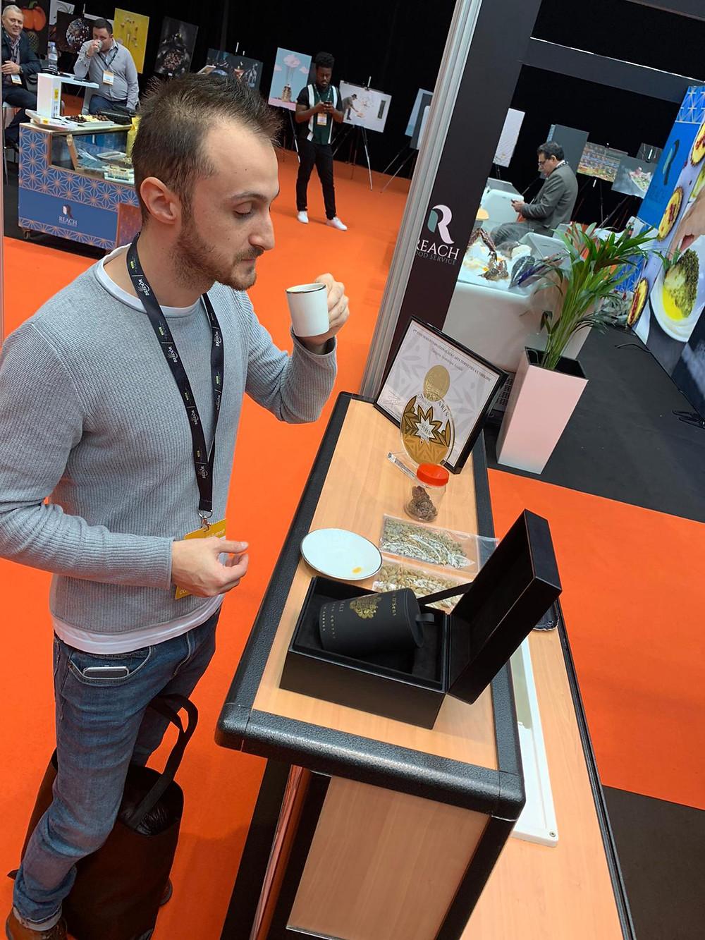 Chef Alex Rada - cea mai scumpa cafea din lume