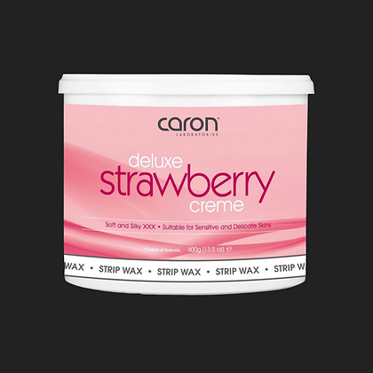 Deluxe Strawberry Strip Wax Crème 400g