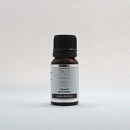 EV Premium Brow Henna - Dark Brown