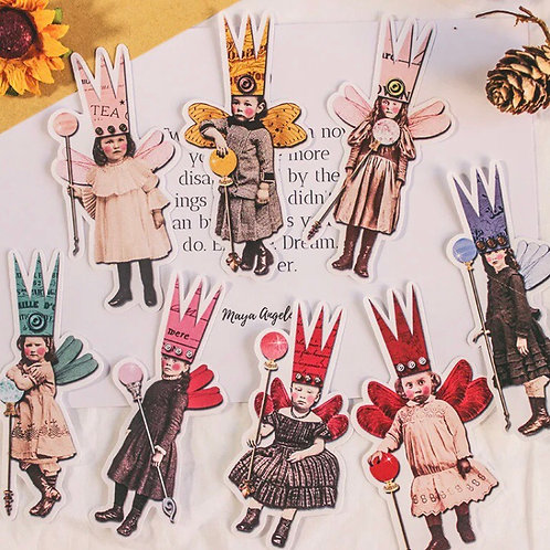 VINTAGE FAIRY STICKERS