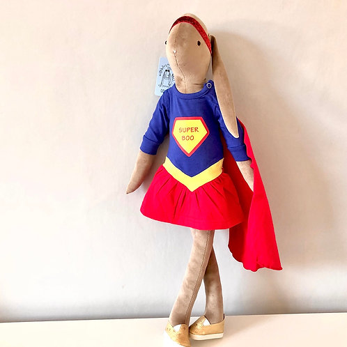 SUPER GIRL BIG BOO OUTFIT