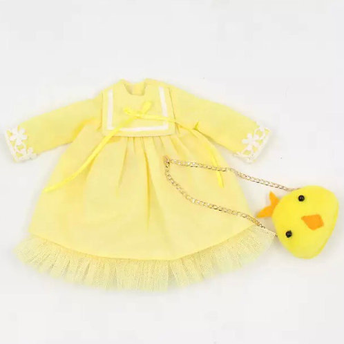 EASTER BABY BOO DRESS & BAG - 2 Colours