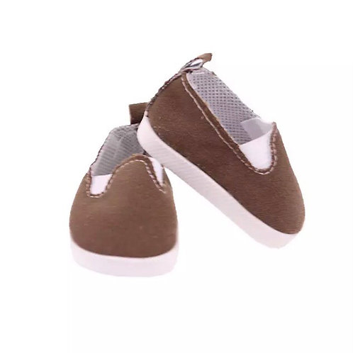 BROWN TRAINERS