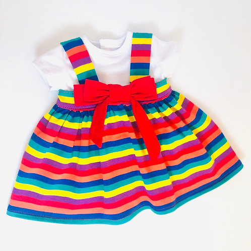 RAINBOW BIG BOO DRESS