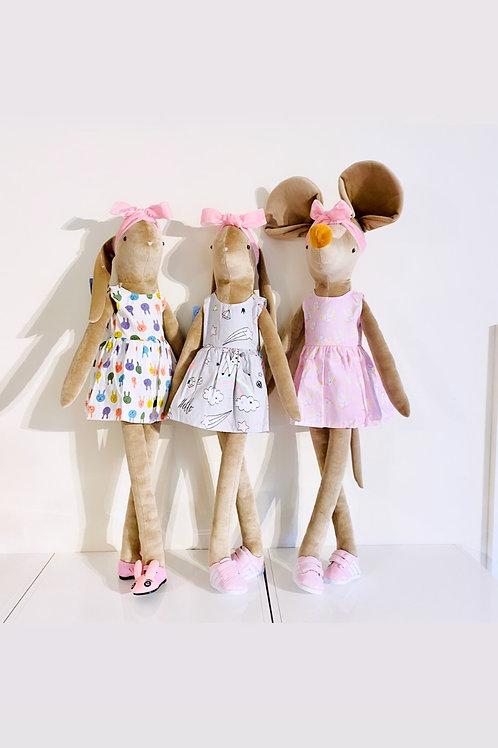 BUNNY, UNICORN, DINOSAUR dresses - 4 Types