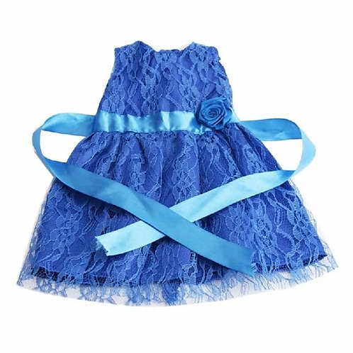 BLUE BIG BOO DRESS