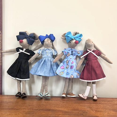 BABY BOO DRESSES - 4 types